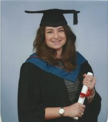Olivia Graduate